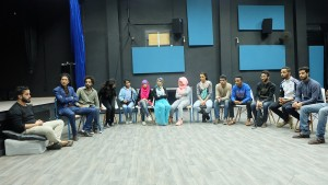 Many youth are passionate of teater