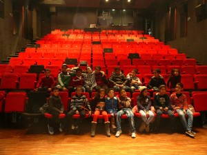 Theater workshop in the French Institut of casablanca