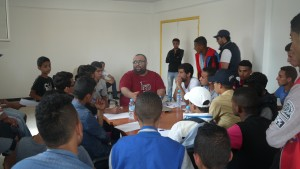 RAP session workshop with the moroccan artist Don Bigg