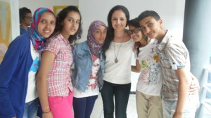 Meeting withe the Moroccan singer Nabyla Maan